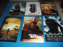Movie Theater Size Posters w/ Full 2006-2007 Movie Listings in Ramstein, Germany