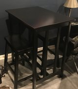 Pub table and stools in Morris, Illinois