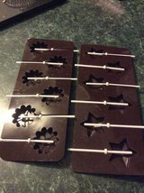 Chocolate lolly moulds Stars & Flowers in Lakenheath, UK