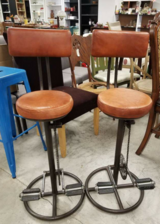 Pair of Unique Bicycle themed Stools in Fort Leonard Wood, Missouri