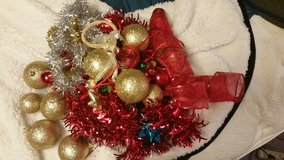 Misc paper sack of Christmas items in Fort Leonard Wood, Missouri