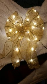 light up Gold Tree topper bow in Fort Leonard Wood, Missouri