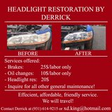 Headlight Restorations in Leesville, Louisiana