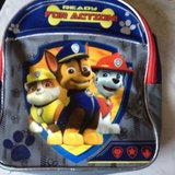 PAW PATROL BACKPACK/RED & YELLOW BACKPACK in Vacaville, California