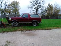 Ford bronco xlt with plow in Naperville, Illinois