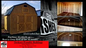 NEW 12'x12' Lofted Barn in Fort Leonard Wood, Missouri