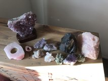Gem stones. Quarts etc in Camp Pendleton, California