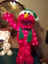 Lighted holiday Elmo indoor or outdoor Christmas Valentine in Plainfield, Illinois