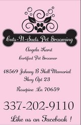 grooming appointments available in New Orleans, Louisiana