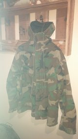 Military Canvas jacket in 29 Palms, California