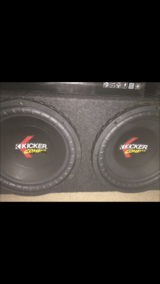 Kickers subwoofers in Travis AFB, California