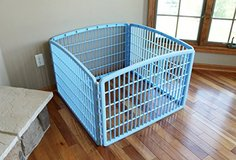 """Pet Playpen 4x Panel by IRIS 24"""" Baby Blue in Glendale Heights, Illinois"""