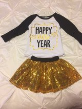 Toddler New Years outfit 12-18 Months new in Lawton, Oklahoma