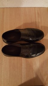 ROCKPORT BLACK LEATHER DRESS SHOES in Glendale Heights, Illinois