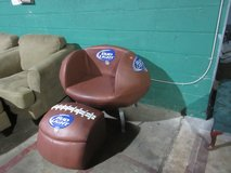 football chair with cooler footstool in Fort Campbell, Kentucky