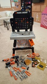 Black and Decker kids tool bench in Naperville, Illinois