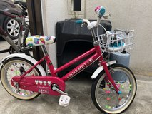 "Girls bike, 16"" - Beautiful Metal Hello Kitty Bike in Okinawa, Japan"