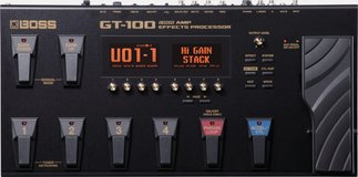 Boss GT-100 in Camp Humphreys, South Korea