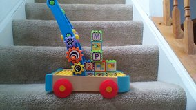 Busy Builder Push Toy in Elgin, Illinois