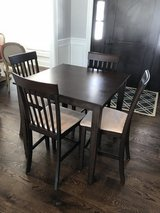 Pub table and chairs in Schaumburg, Illinois