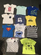 Lot of 12 month (80 german) baby boy tshirts in Ramstein, Germany