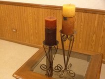 Candle sticks pair metal in Glendale Heights, Illinois