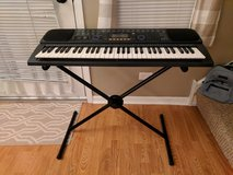 Casio keyword with midi ports with stand in Plainfield, Illinois