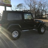 2006 JEEP WRANGLER WITH A LIFT KIT in Fort Leonard Wood, Missouri