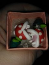 Mario piranha plant earrings in Fort Campbell, Kentucky