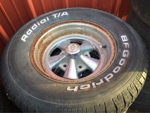 """15"""" 5 on 5 1/2 lug pattern crager ss and bfgs in Camp Lejeune, North Carolina"""