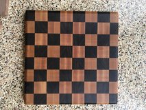 Handmade Cuttingboard Hardwood Checkerboard in Oceanside, California