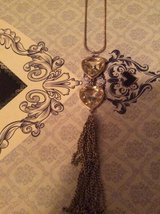 Long chained hear tassel necklace in Lakenheath, UK
