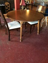 Wood Kitchen Table w/Two Chairs in Leesville, Louisiana