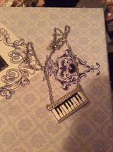 Piano keyboard necklace in Lakenheath, UK