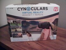 CYNOCULARS Virtual reality Headset and Remote  (brand new in box) in Schaumburg, Illinois