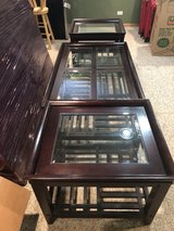Solid Cherry Wood Coffee & End Tables in Palatine, Illinois