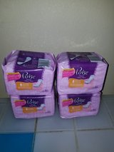 Poise pads liners bundle of 4 in Columbus, Georgia
