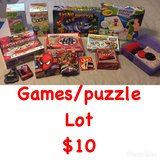 Games/puzzle lot in Macon, Georgia