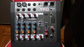 Allen & Heath ZEDi-8 Mixer with USB in Okinawa, Japan