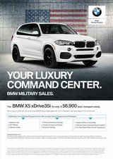 BMW X5 xDrive 35i - BMW Military Sales - Special Promotion! in Grafenwoehr, GE