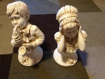 Ceramic music Italian statues in Ramstein, Germany