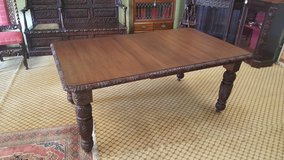Extending Carved Oak Table Free Delivery Others Tables Available in Lakenheath, UK