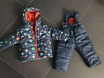Snow suit 12 months (80 European) in Ramstein, Germany