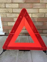 Vehicle Warning Triangle. in Lakenheath, UK