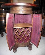 FRENCH WINE BARREL BAR TABLE in Wiesbaden, GE