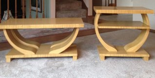 Mid Century Retro Vintage set of 2 tables in Tinley Park, Illinois