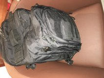 Backpack and suitcase in Ramstein, Germany