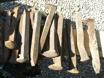 30 high carbon steel railroad spikes in Alamogordo, New Mexico