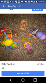 Baby toy lot in Lawton, Oklahoma