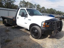 06 Ford F350 Flat bed Diesel Work Truck in Fort Polk, Louisiana